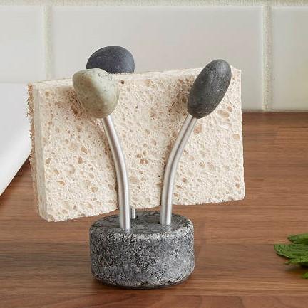 stone sponge holder