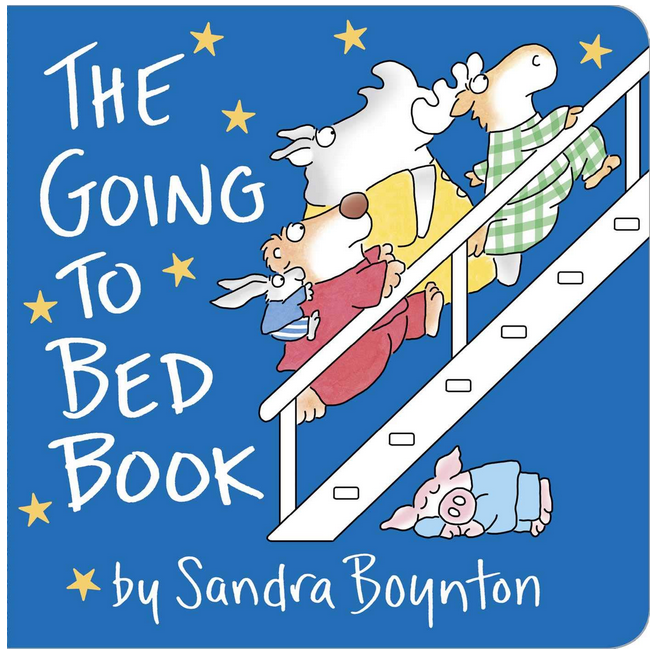 the going to bed book cover