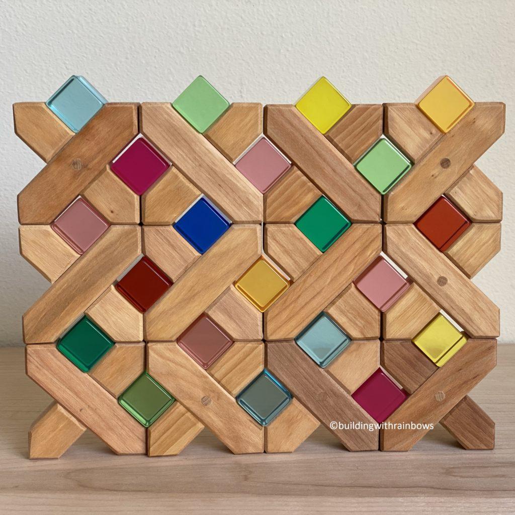 bauspiel x bricks and lucent cubes blocks