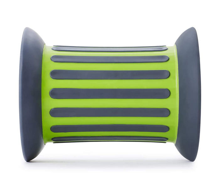 gross motor green roller toy