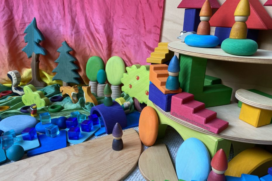 open ended toys - small world play