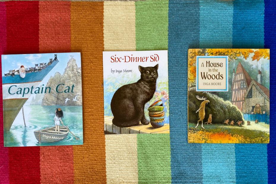 books by inga moore