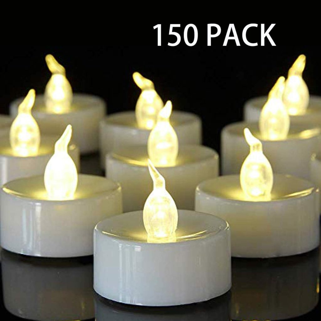 flamless candles used in play