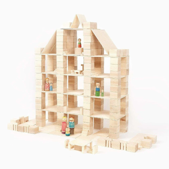 Just Blocks toy reccomended for age 5