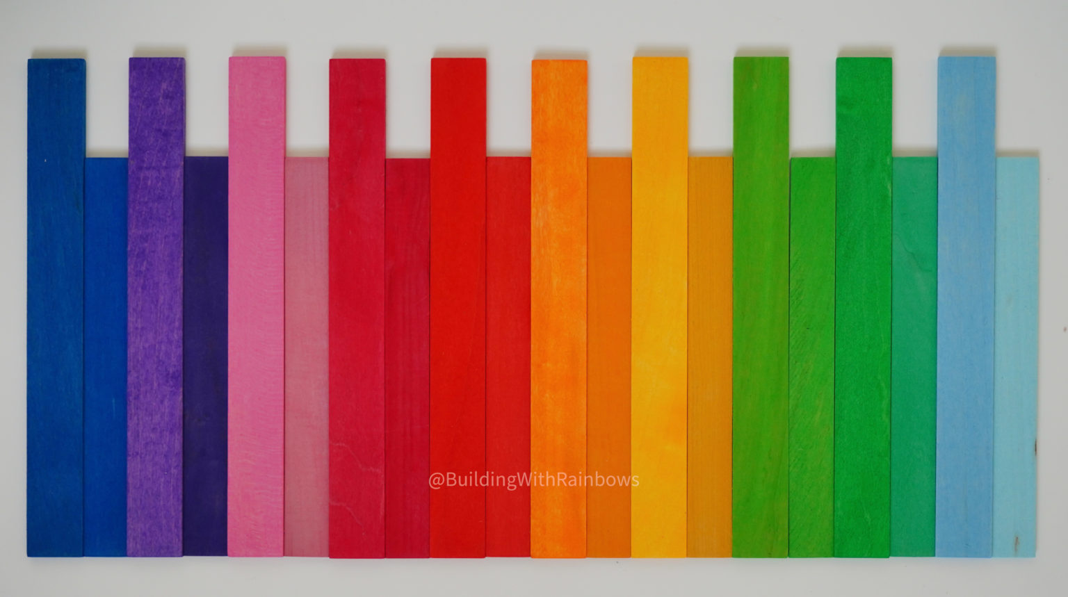 Side by Side comparison of Grimms and Bauspiel slats