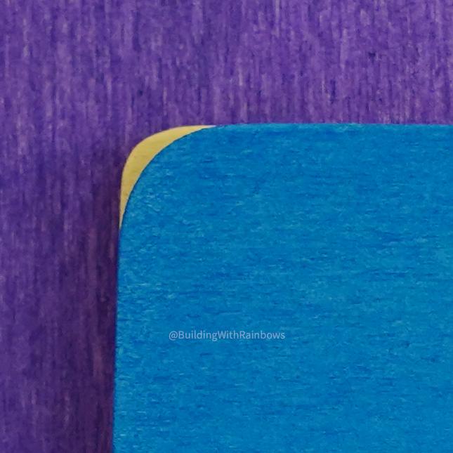 Corner raidus on Bauspiel building tiles vs Grimm's color mats