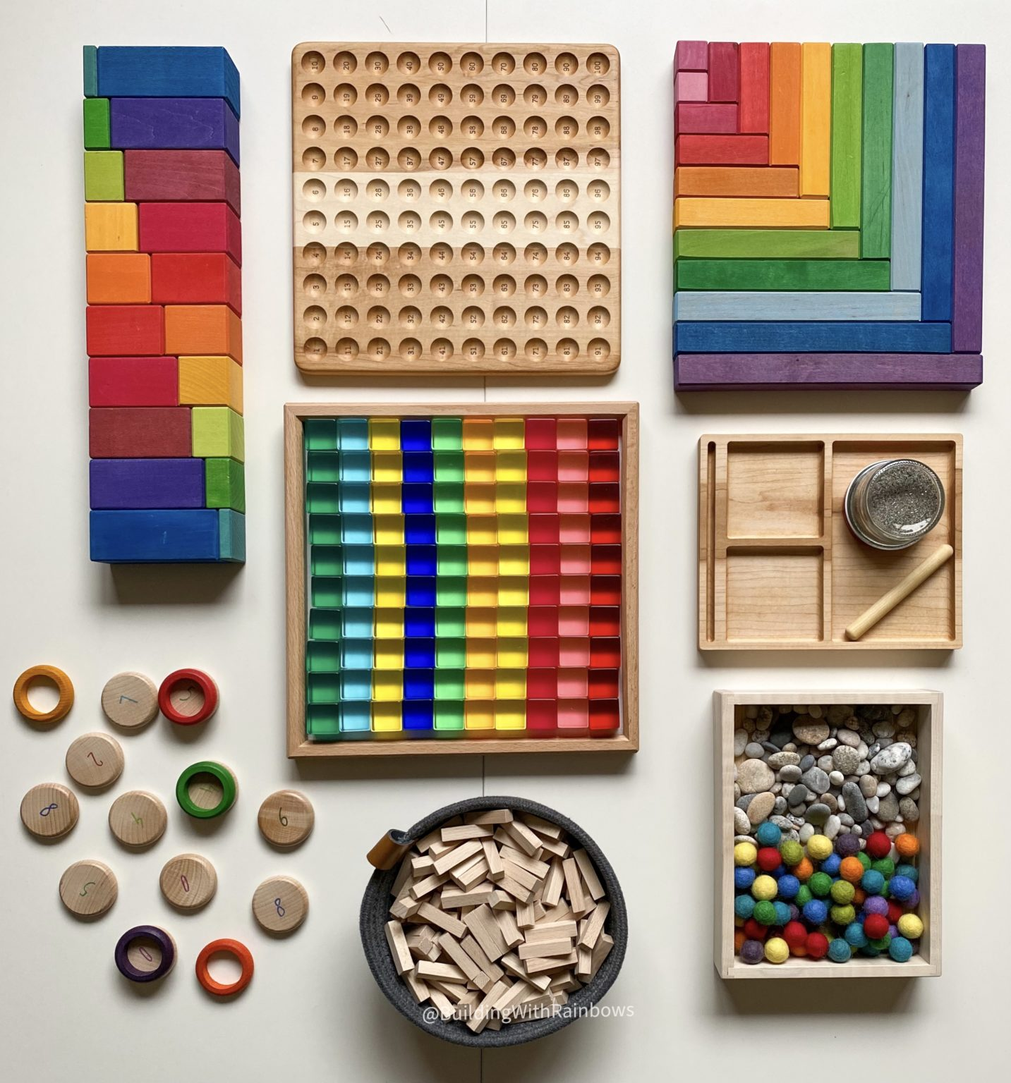 openended toys for math tools