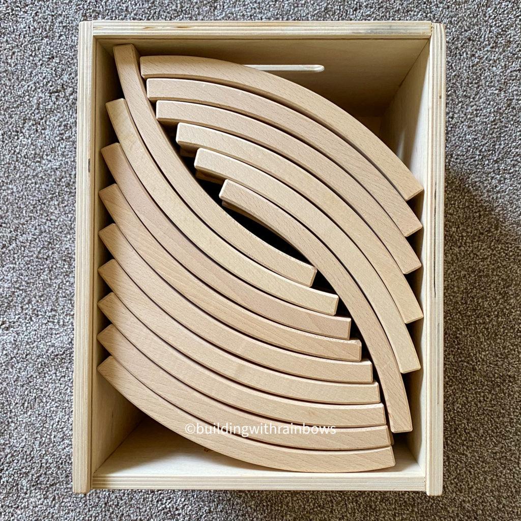 Abel Blocks in a box
